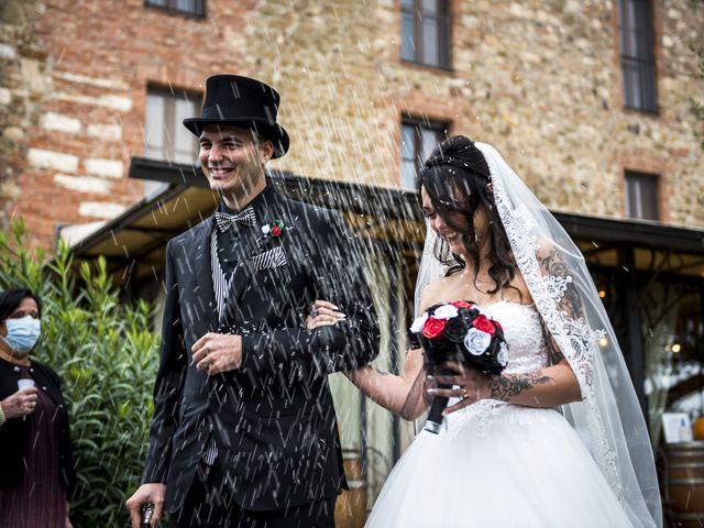 Il matrimonio di Andrea e Gemma a Massa Marittima, Grosseto 69