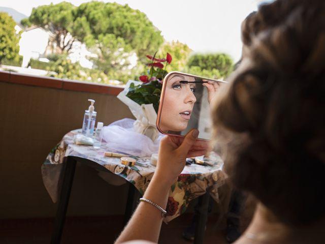 Il matrimonio di Fabio e Sabrina a Montaione, Firenze 13