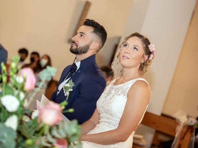 Il matrimonio di Fabio e Sabrina a Montaione, Firenze 21