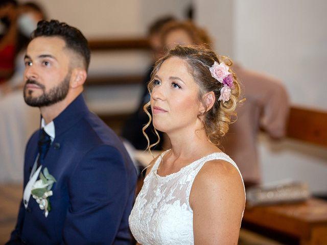 Il matrimonio di Fabio e Sabrina a Montaione, Firenze 23