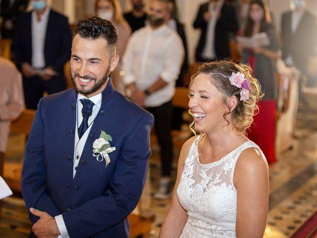 Il matrimonio di Fabio e Sabrina a Montaione, Firenze 24