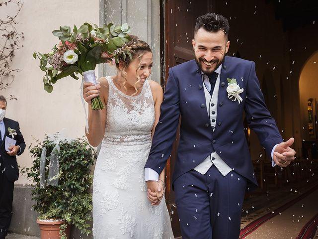 Il matrimonio di Fabio e Sabrina a Montaione, Firenze 32