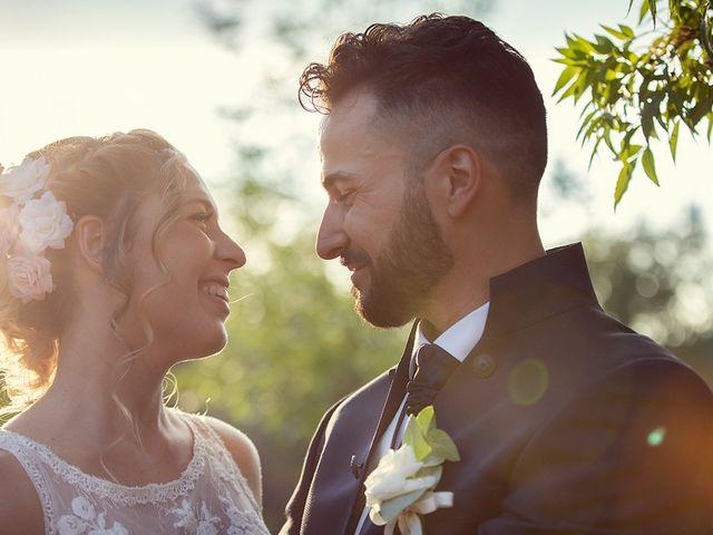 Il matrimonio di Fabio e Sabrina a Montaione, Firenze 35
