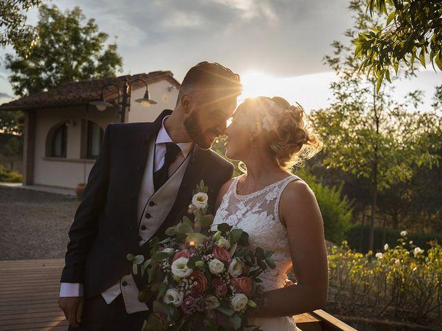 Il matrimonio di Fabio e Sabrina a Montaione, Firenze 36