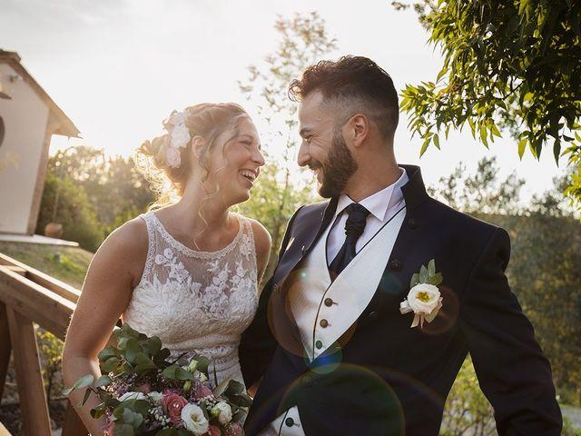 Il matrimonio di Fabio e Sabrina a Montaione, Firenze 37