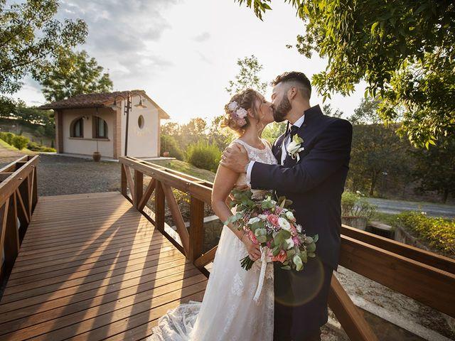 Il matrimonio di Fabio e Sabrina a Montaione, Firenze 38