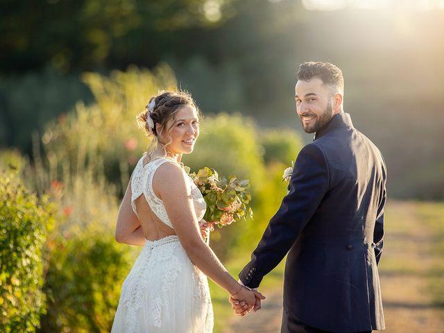 Il matrimonio di Fabio e Sabrina a Montaione, Firenze 41