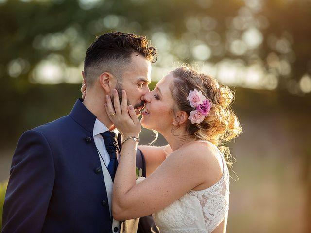 Il matrimonio di Fabio e Sabrina a Montaione, Firenze 1