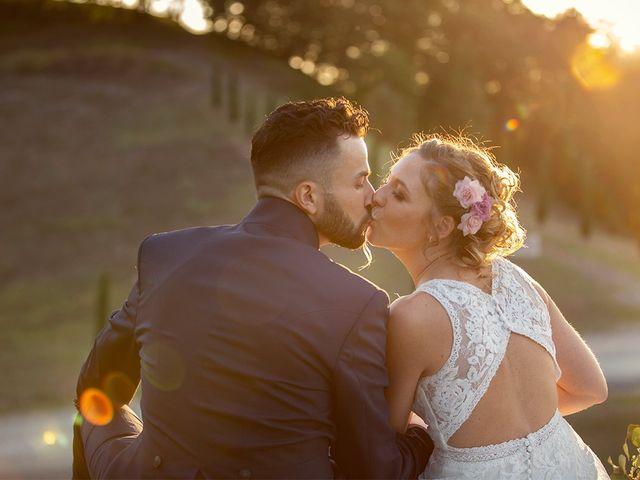 Il matrimonio di Fabio e Sabrina a Montaione, Firenze 47