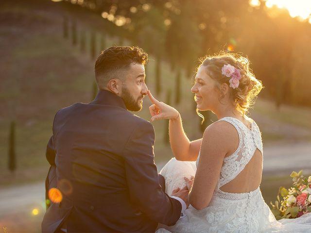 Il matrimonio di Fabio e Sabrina a Montaione, Firenze 48
