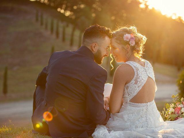 Il matrimonio di Fabio e Sabrina a Montaione, Firenze 49