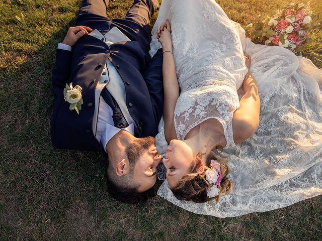 Il matrimonio di Fabio e Sabrina a Montaione, Firenze 50