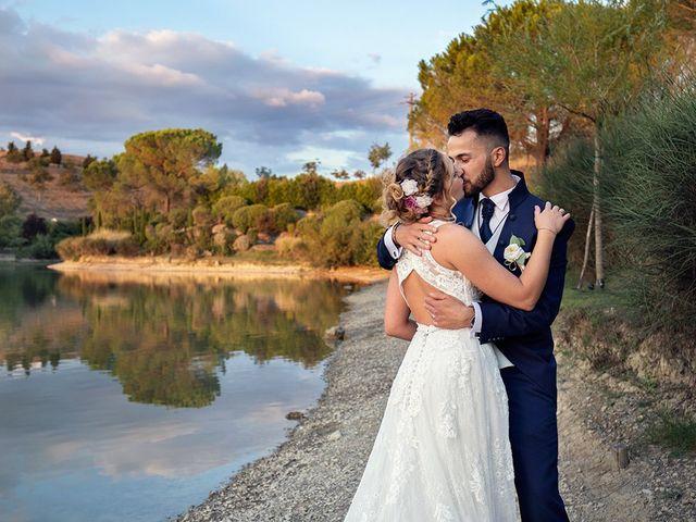 Il matrimonio di Fabio e Sabrina a Montaione, Firenze 52