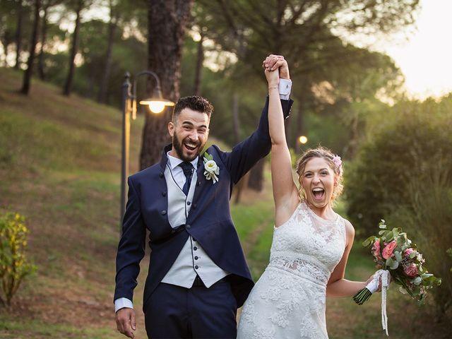 Il matrimonio di Fabio e Sabrina a Montaione, Firenze 56