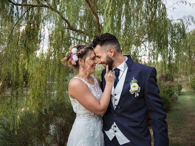 Il matrimonio di Fabio e Sabrina a Montaione, Firenze 57
