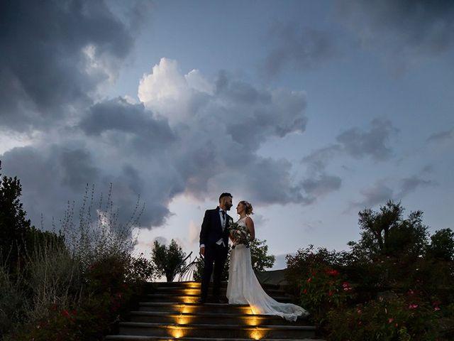 Il matrimonio di Fabio e Sabrina a Montaione, Firenze 60