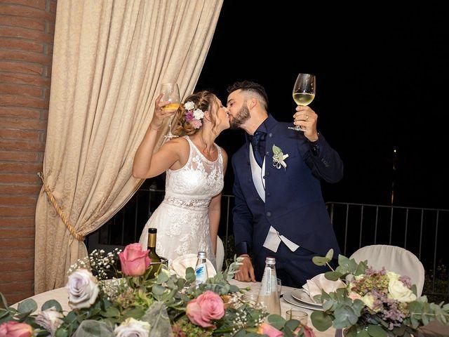 Il matrimonio di Fabio e Sabrina a Montaione, Firenze 63