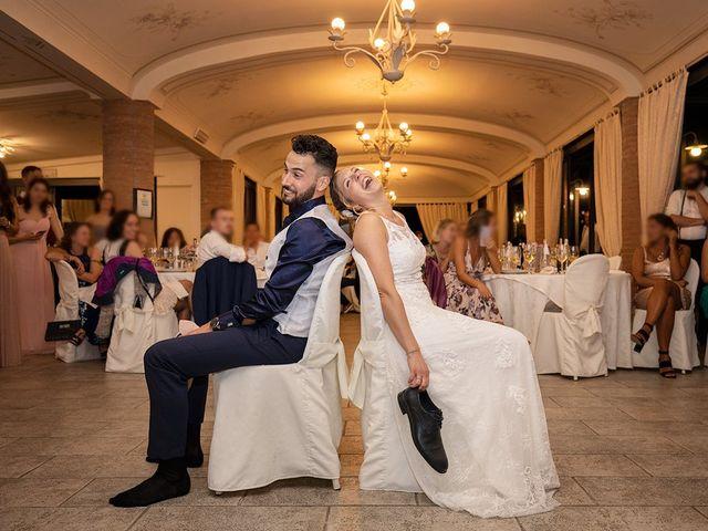 Il matrimonio di Fabio e Sabrina a Montaione, Firenze 64