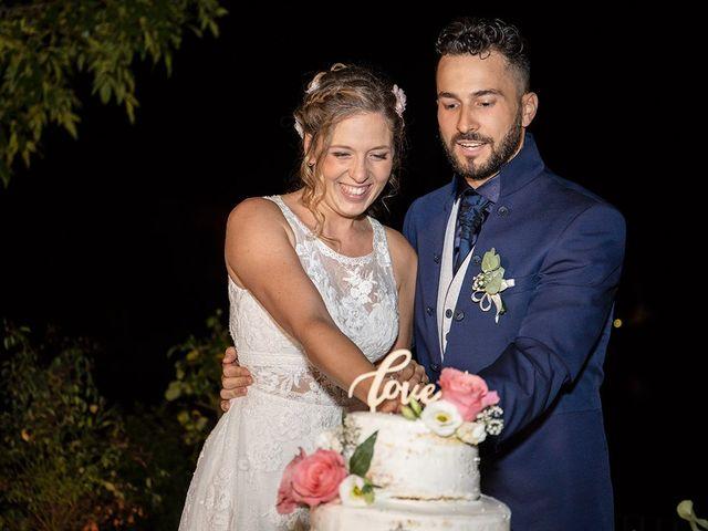 Il matrimonio di Fabio e Sabrina a Montaione, Firenze 67