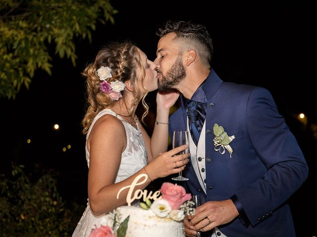 Il matrimonio di Fabio e Sabrina a Montaione, Firenze 68