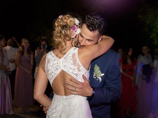 Il matrimonio di Fabio e Sabrina a Montaione, Firenze 73