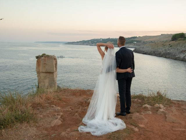 Il matrimonio di Saverio e Bianca a Santa Cesarea Terme, Lecce 13
