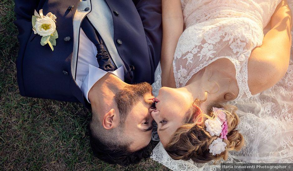 Il matrimonio di Fabio e Sabrina a Montaione, Firenze