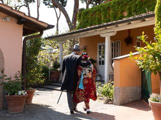 Le nozze di Masako e Domenico
