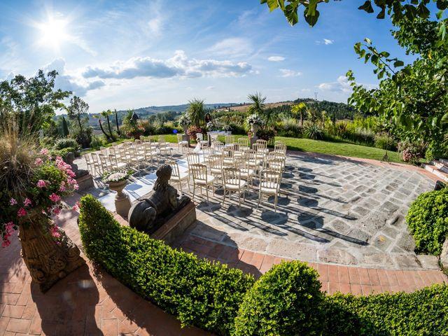 Il matrimonio di Marco e Lida a Montespertoli, Firenze 1