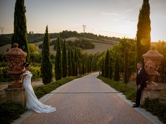 Il matrimonio di Marco e Lida a Montespertoli, Firenze 79