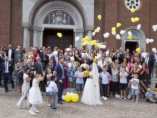 Il matrimonio di Simone e Maria a Rescaldina, Milano 13