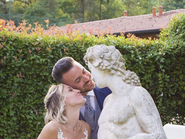 Il matrimonio di Simone e Maria a Rescaldina, Milano 22