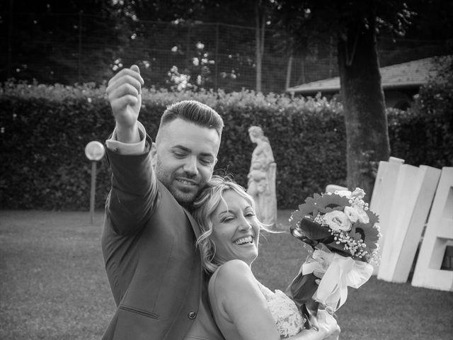 Il matrimonio di Simone e Maria a Rescaldina, Milano 26