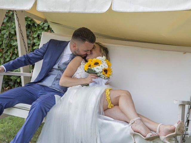 Il matrimonio di Simone e Maria a Rescaldina, Milano 28