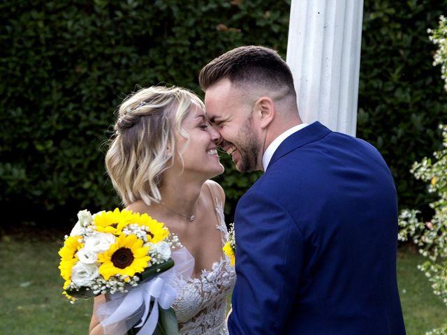 Il matrimonio di Simone e Maria a Rescaldina, Milano 30