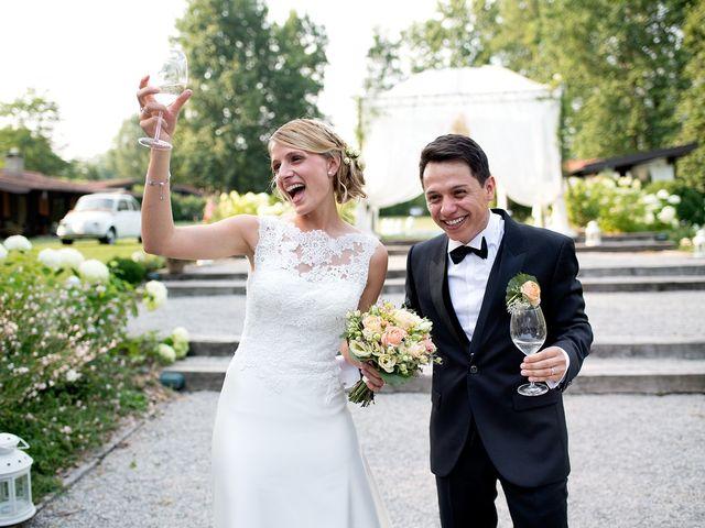 Le nozze di Serena e Alejandro