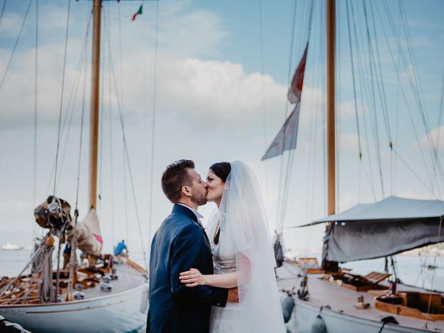 Il matrimonio di Michail e Roberta a Porto Santo Stefano, Grosseto 39