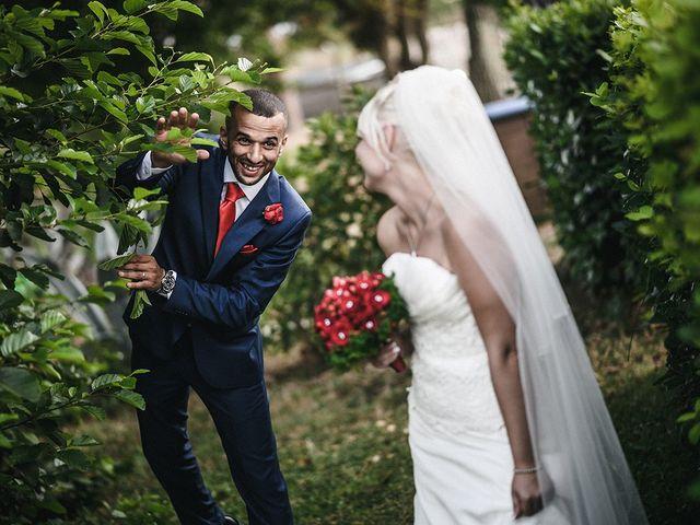 Il matrimonio di Simona e Tarik a Bracciano, Roma 15