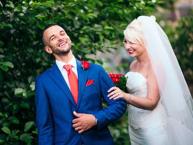 Il matrimonio di Simona e Tarik a Bracciano, Roma 18