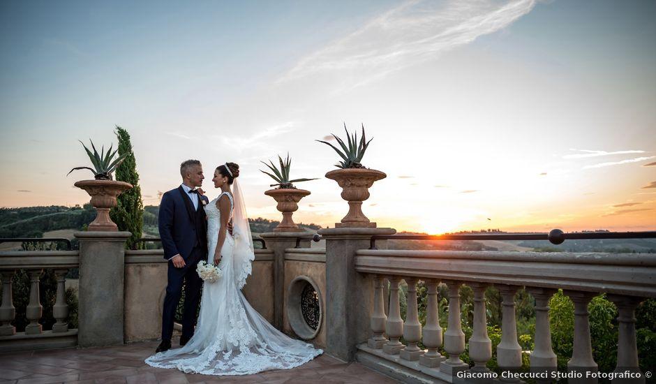 Il matrimonio di Marco e Lida a Montespertoli, Firenze