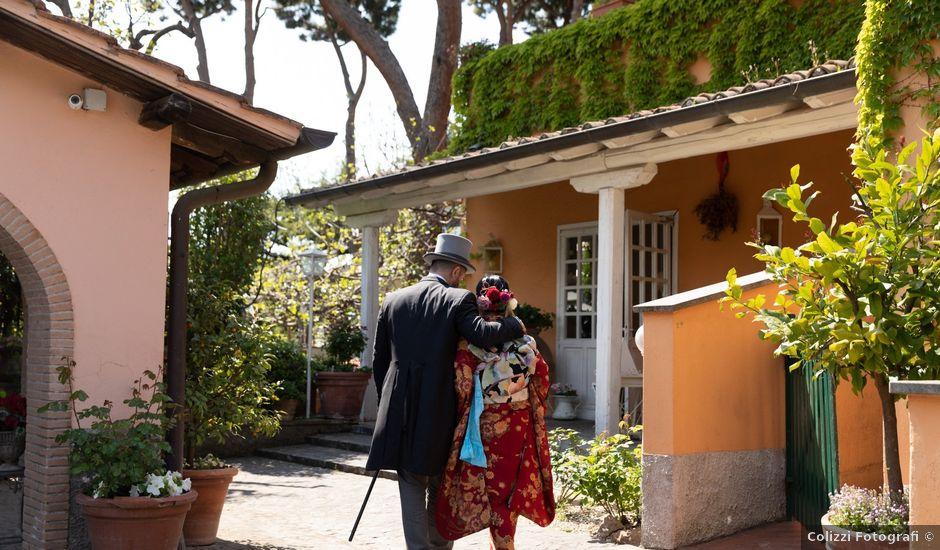Il matrimonio di Domenico e Masako a Roma, Roma