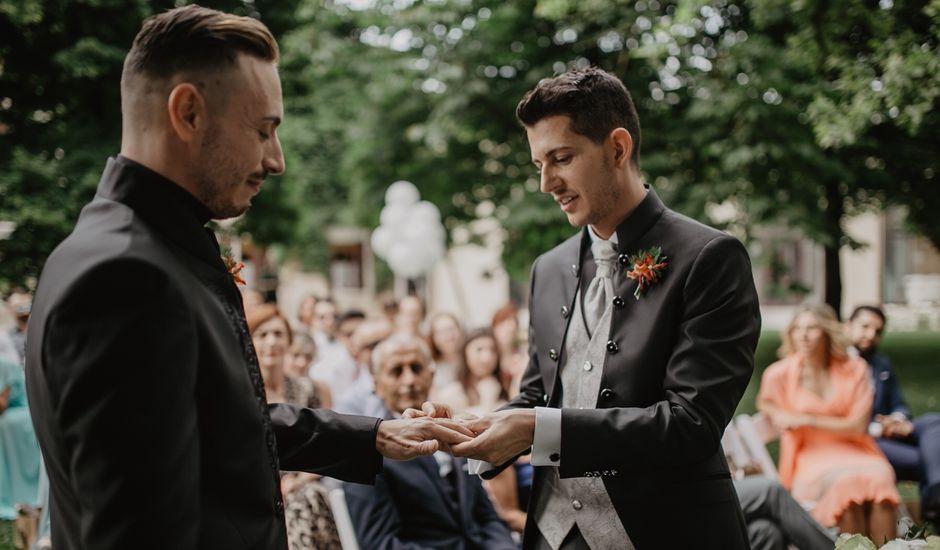 Il matrimonio di Nicola  e Manuel a Annone Veneto, Venezia