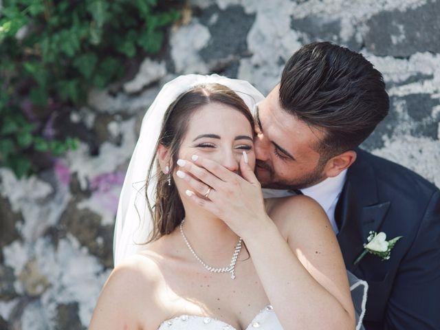le nozze di Luana e Giuseppe