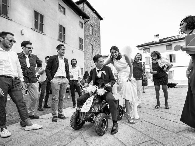 Il matrimonio di Federico e Marina a Arcene, Bergamo 52