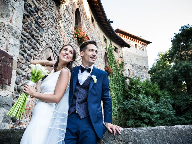 Il matrimonio di Federico e Marina a Arcene, Bergamo 71