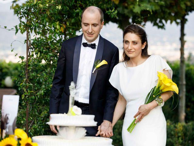 Il matrimonio di Marco e Marianna a Collebeato, Brescia 138