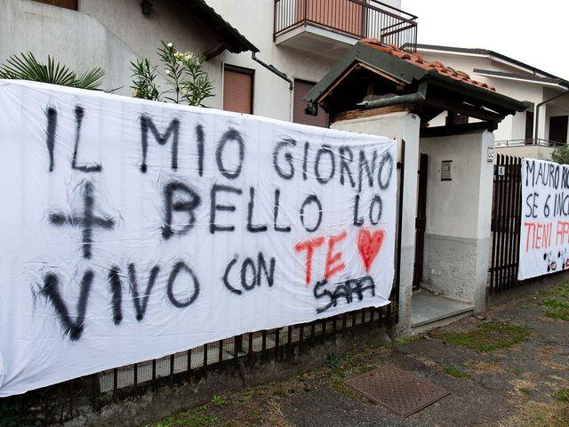 Il matrimonio di Mauro e Sara a Morimondo, Milano 3