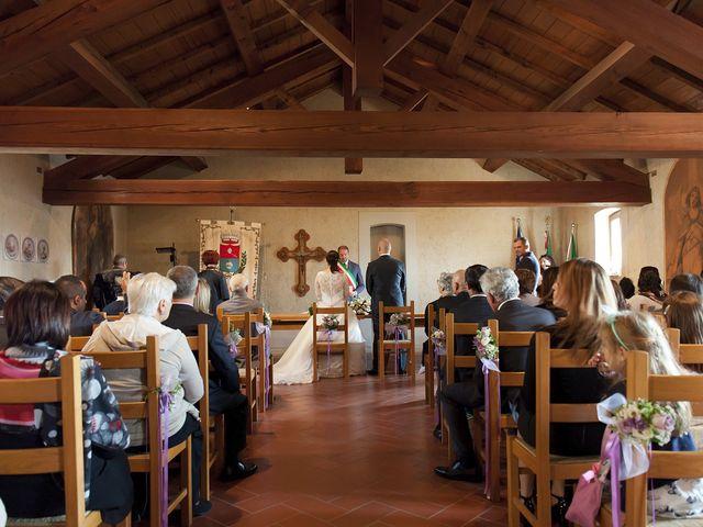 Il matrimonio di Mauro e Sara a Morimondo, Milano 83