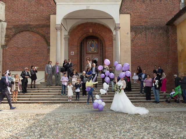 Il matrimonio di Mauro e Sara a Morimondo, Milano 118