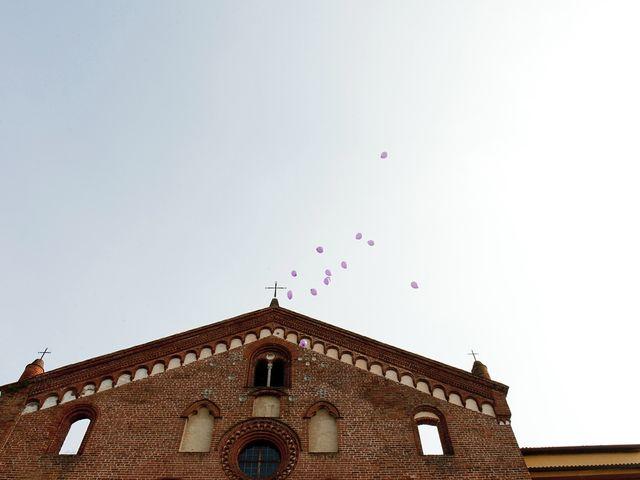 Il matrimonio di Mauro e Sara a Morimondo, Milano 120